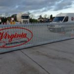 Virginia Transport Sliding Electric Gate
